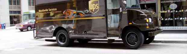 We now use UPS My Choice