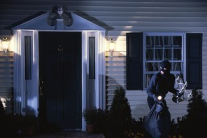 theft ignores home security