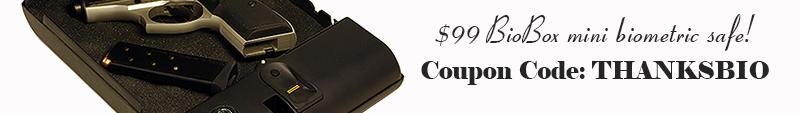 BioBox Mini Biometric Safe Sale